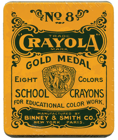children s products 1903 crayola crayons